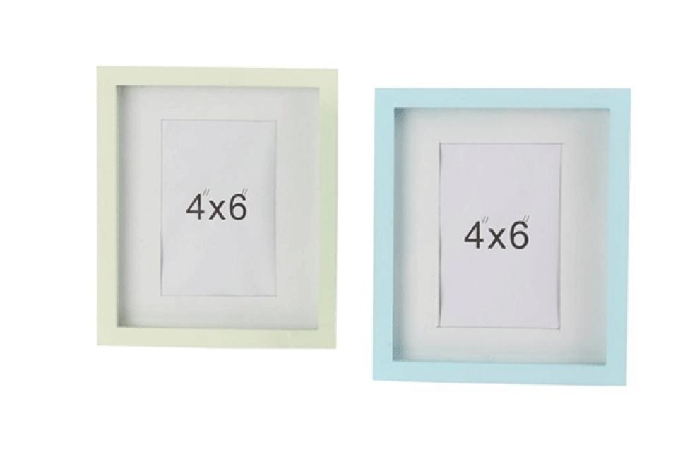 Pastelni ram 10x15 2 boje