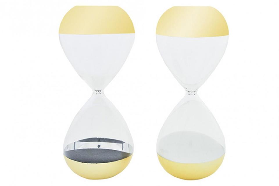 Peščani sat gold 8x8x20 2 modela
