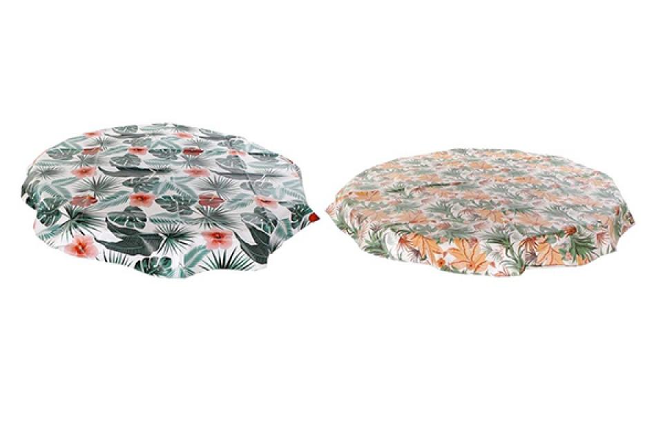 Plastični stolnjak / mušema round 140x140 0,01  2 boje