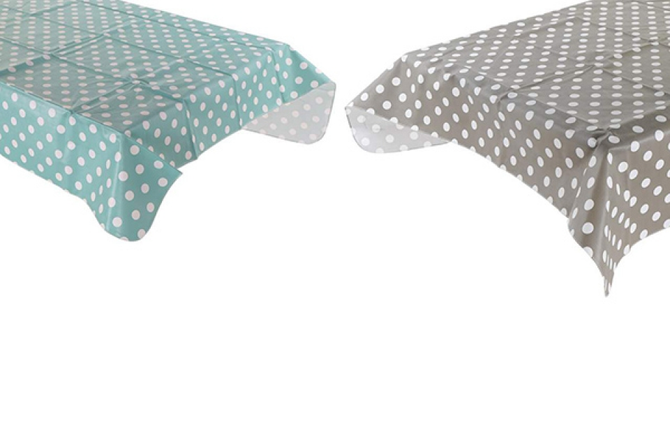 Plastični stolnjak / mušema square 140x140 0,03 2 boje