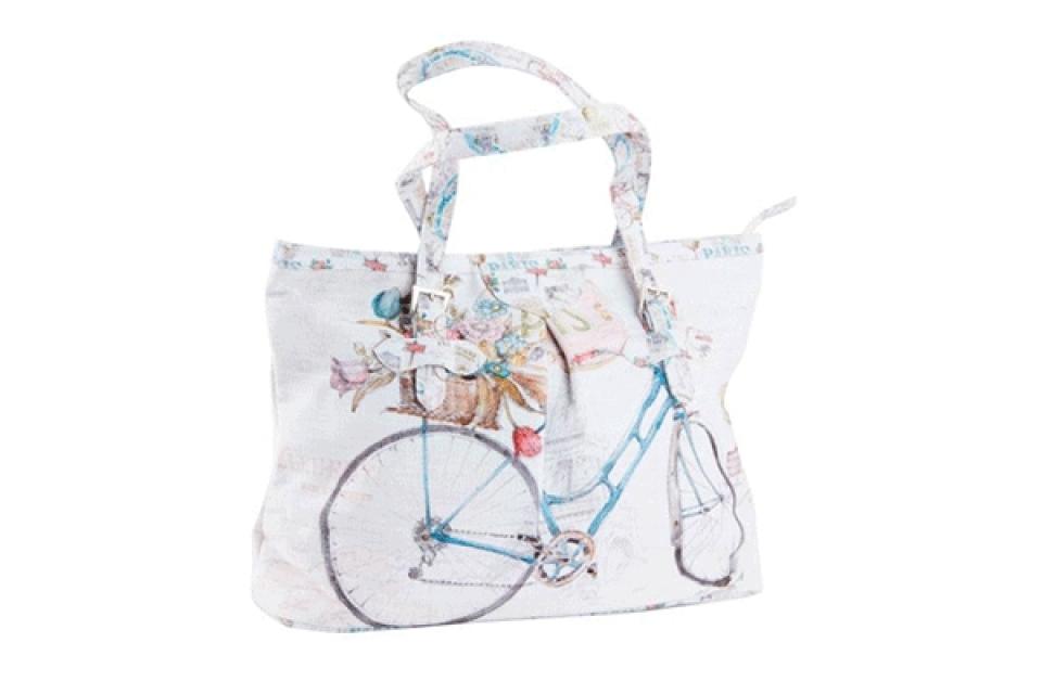 Platnena torba bicikl 37x12x27