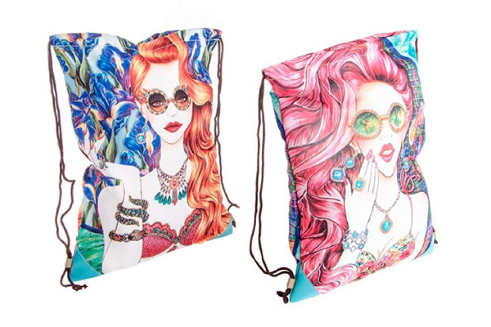 Platnena torba girl 28x36 2 modela