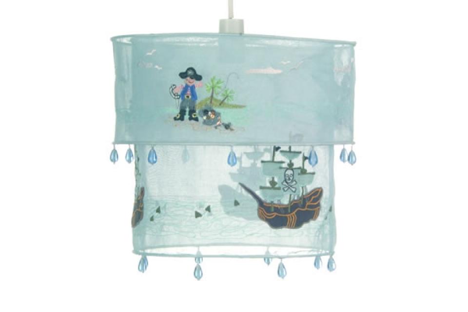 Platneni abažur za luster iz dva dela sa piratima