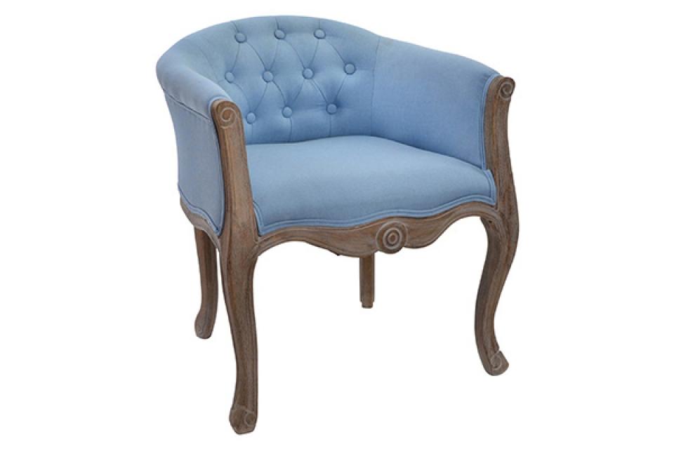 Plava fotelja 58x56x69