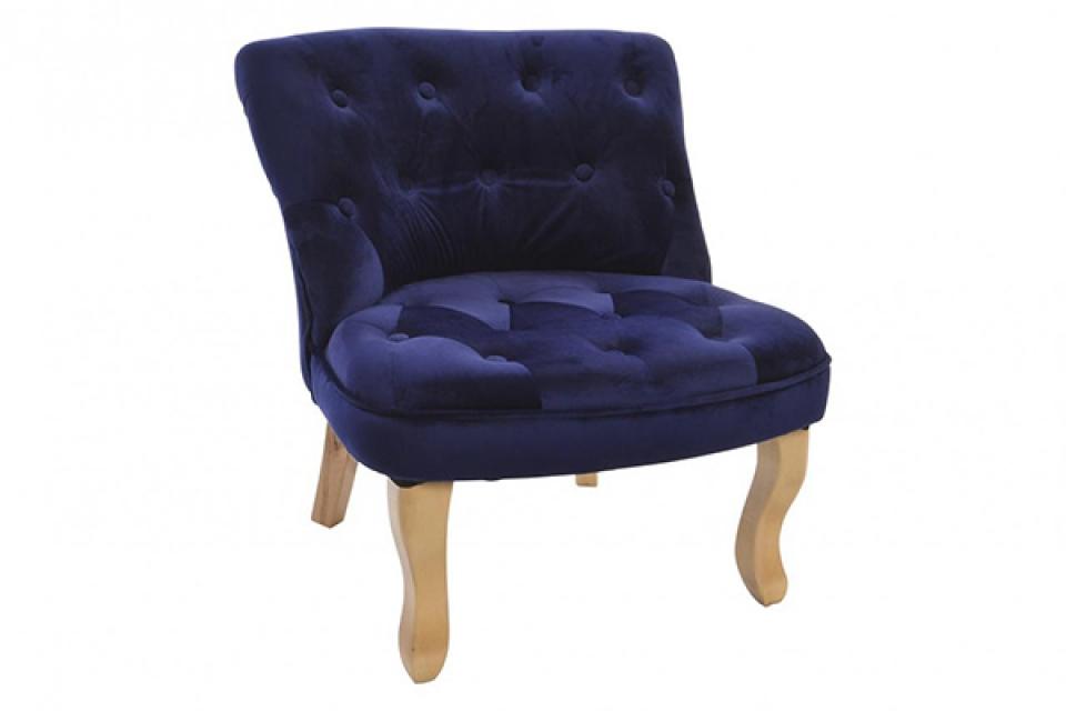 Plava fotelja 64x64x67