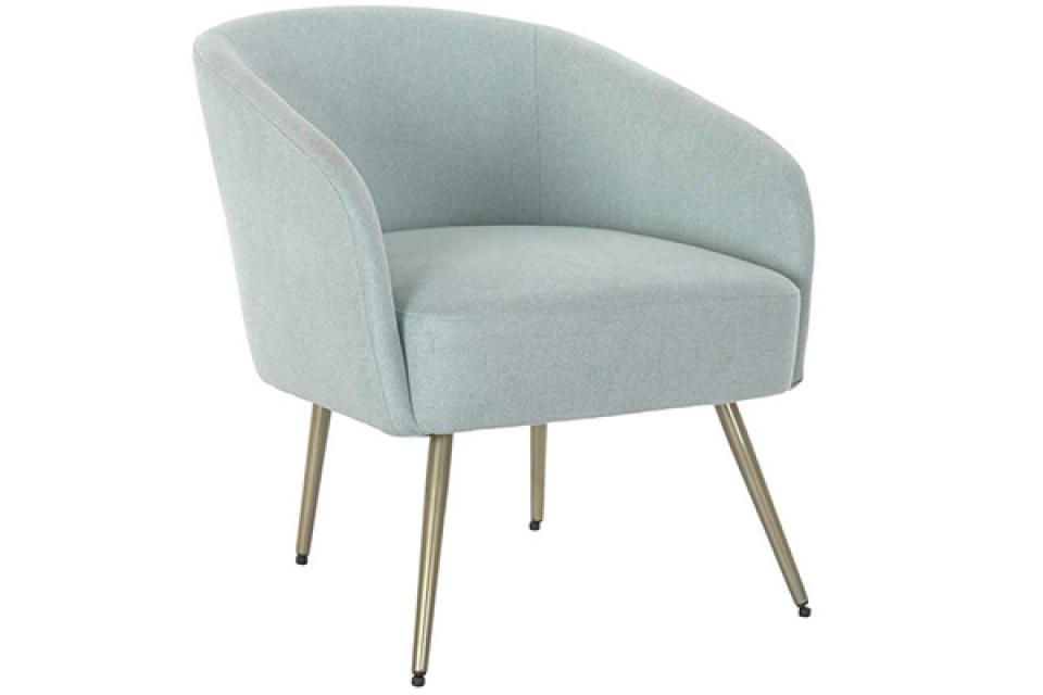 Plava fotelja 67x68x71