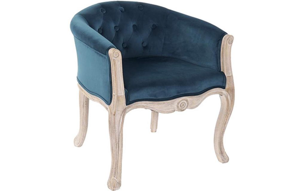 Zelena fotelja velvet 58x60x69