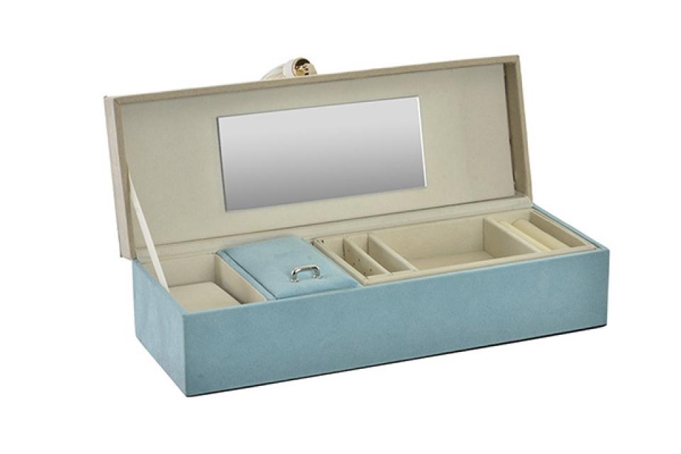 Plava kutija za nakit 28x10x7,5
