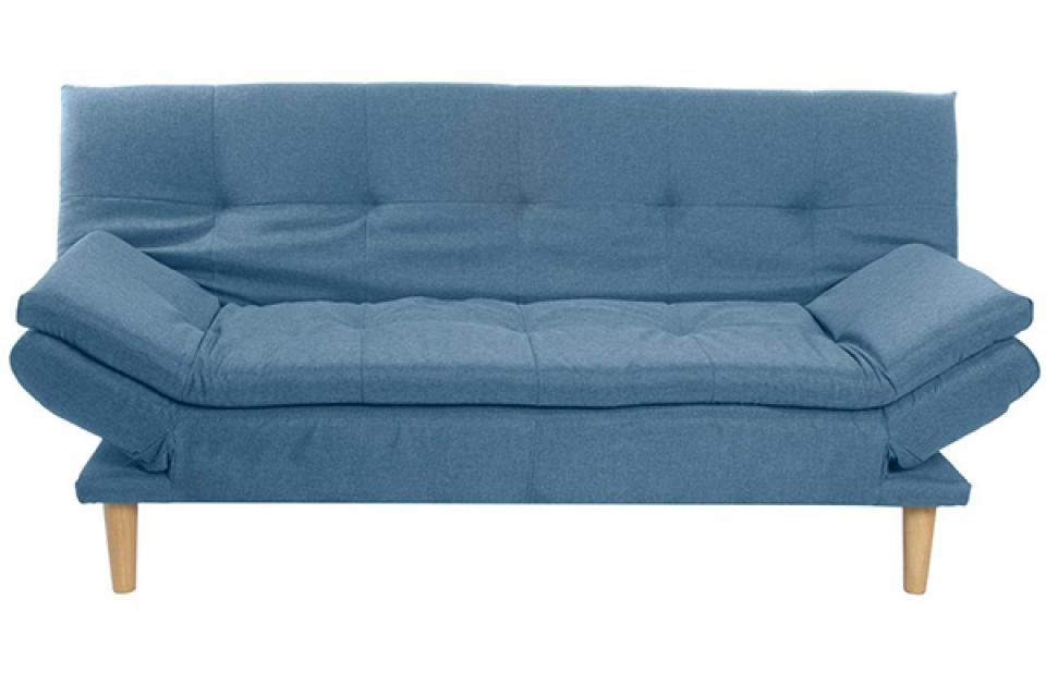 Plava sofa 215x81x81
