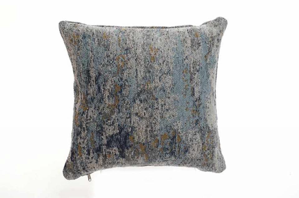 Plavi jastuk sa šarama 45x45 800 gr