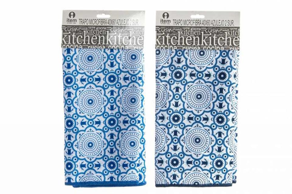 Plavo bela krpa 40 x 60 2 modela