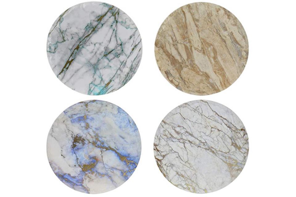 Podmetač simil marmol 20x20x0,8 4 modela