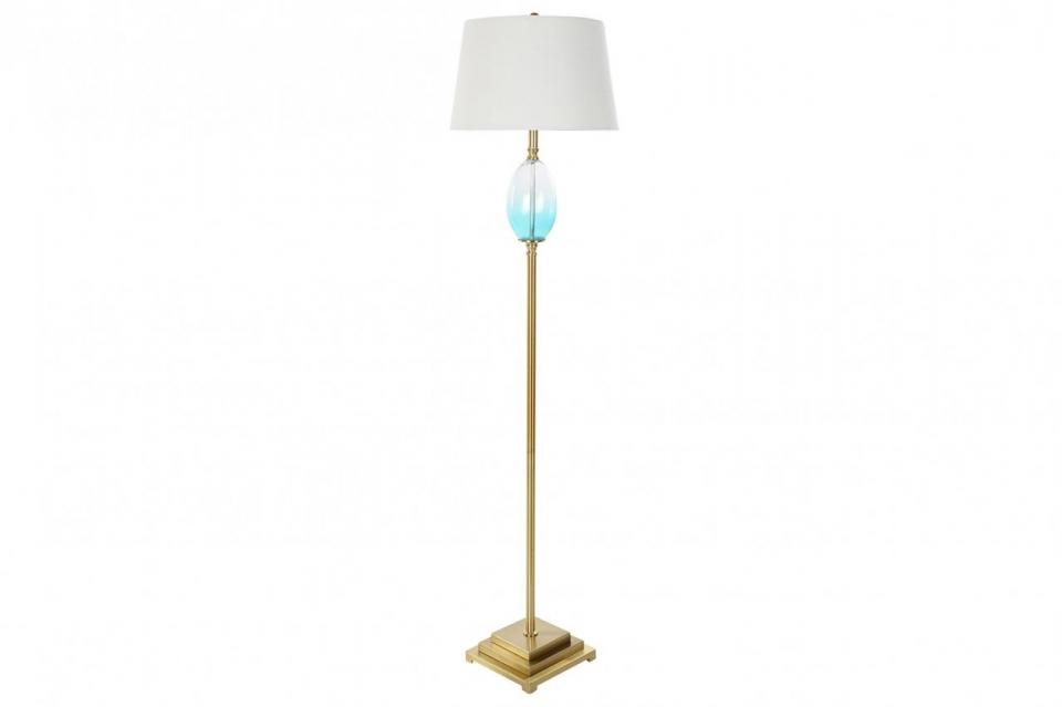 Podna lampa ball blue 40x40x166 5,3 kg./ metal
