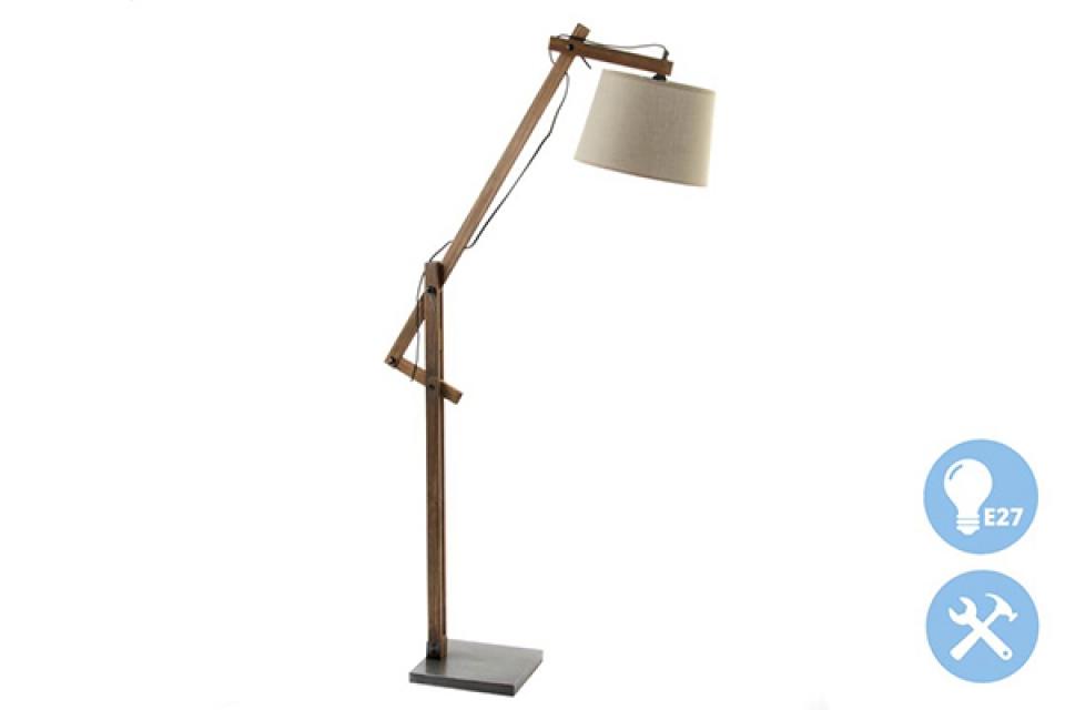 Podna lampa fabric 30x80x160 e27