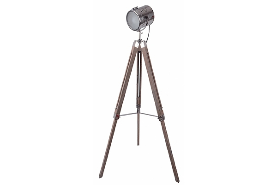 Podna lampa tripod 65x65x135