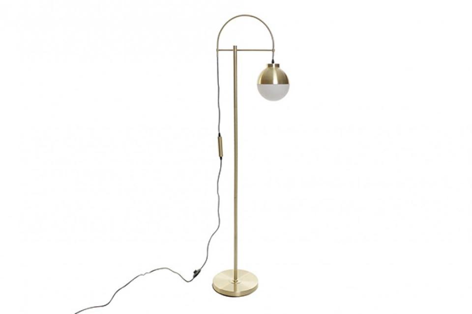 Podna lampa white golden 45x27,5x163