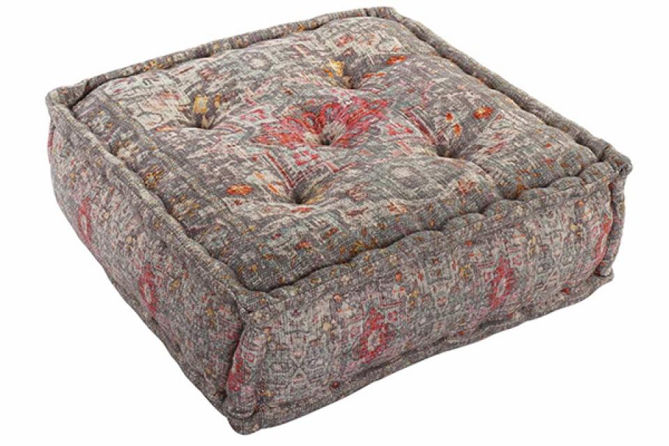 Podni jastuk aged red 60x60x23 4 kg