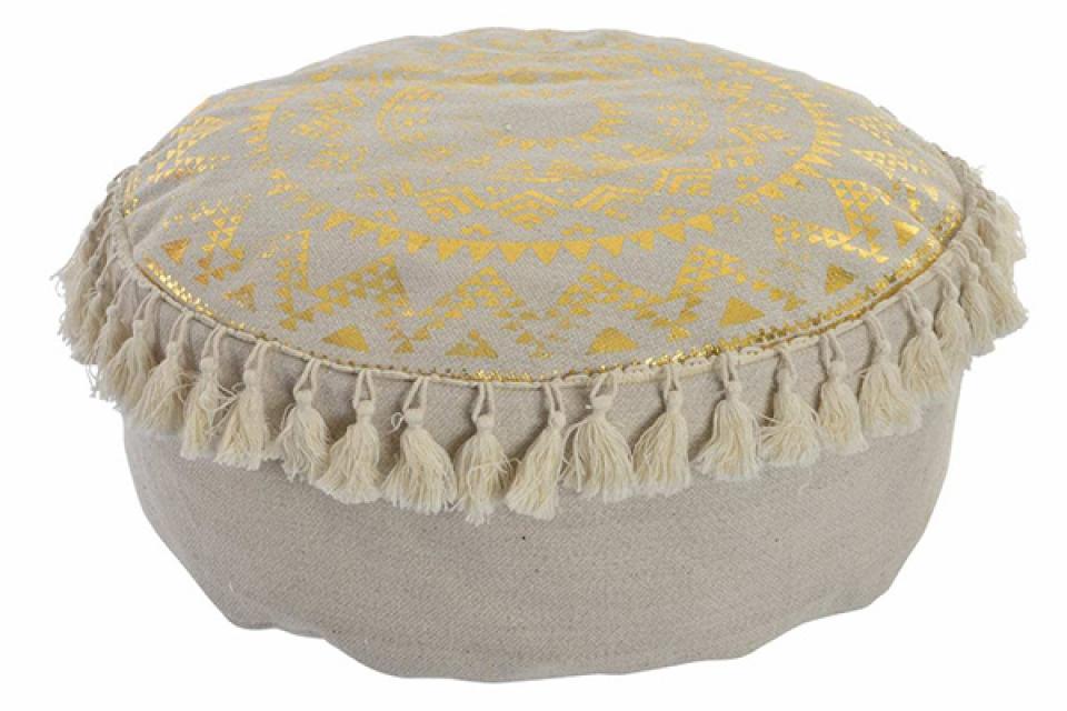 Podni jastuk gold mandala 41x41x16 700 gr.