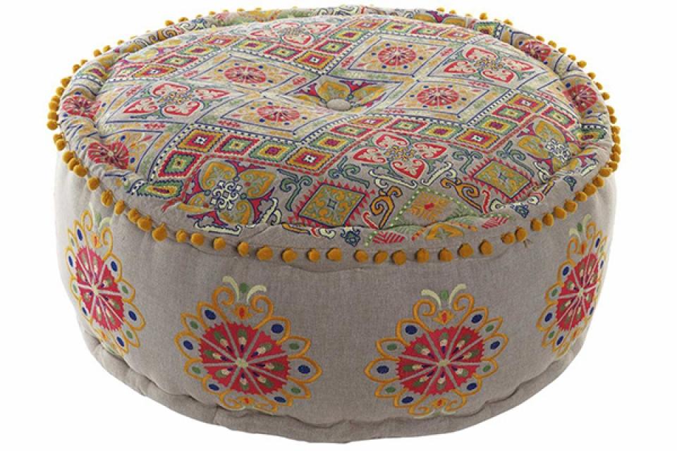 Podni jastuk multicolor  60x25 7500 gr