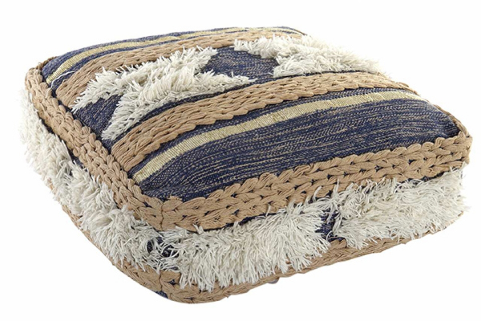 Podni jastuk stripes blue 60x60x20 6160 gr.