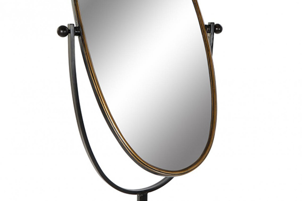 Podno ovalno ogledalo 66x57x163