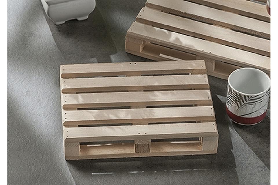 Poslužavnik podmetač u obliku palete 20x15