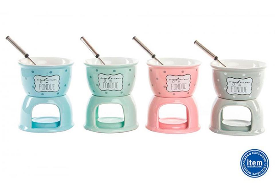 Posuda fondue 10x13 4 boje