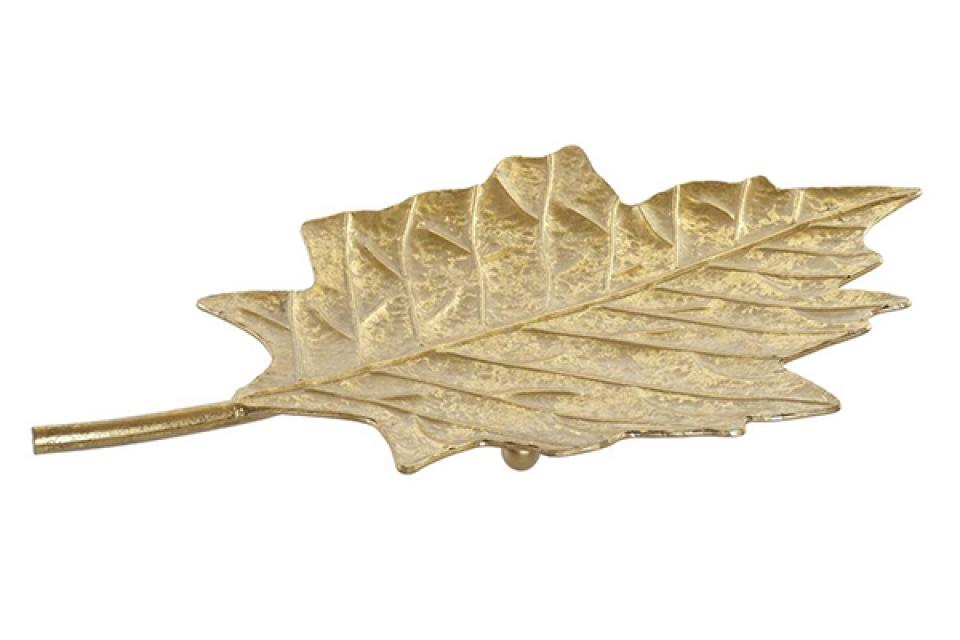 Posuda zlatni list 53,5x30x3,5