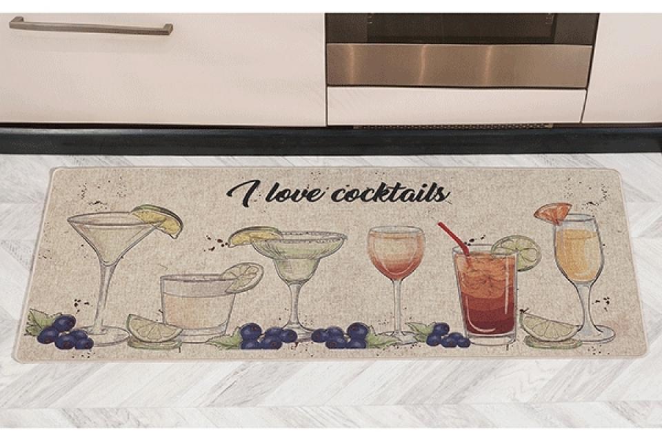 Prostirka cocktails 45x75 4 modela