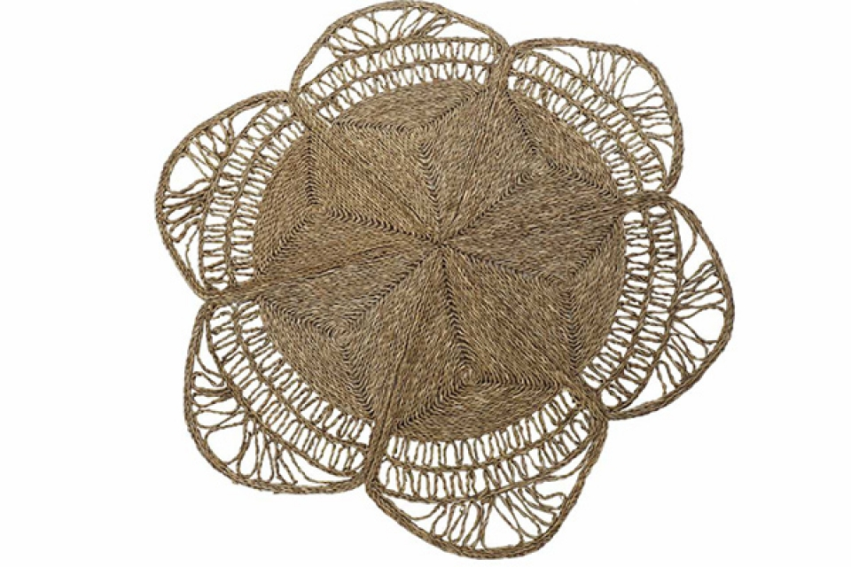 Prostirka flower 150x150