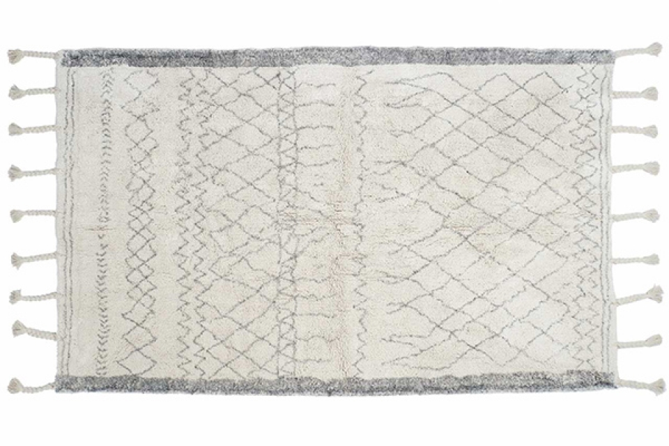 Tepih white 160x230 1900 gr