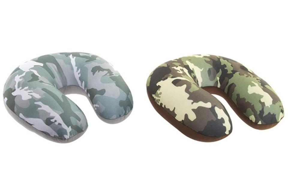Putni jastuk camuflage 30x30x8,5 2 modela
