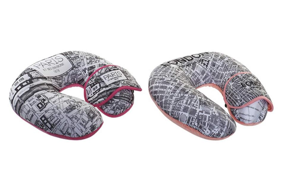 Putni jastuk i maska cities 30x30x8
