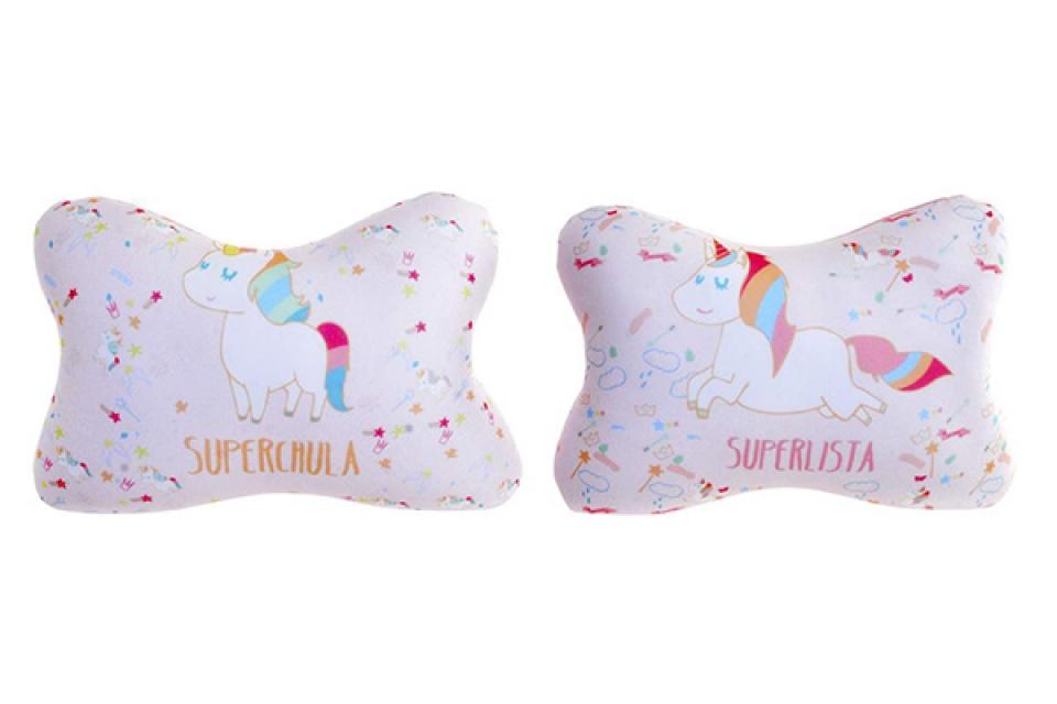 Putni jastuk jednorog 26x17 64gr. 2 modela
