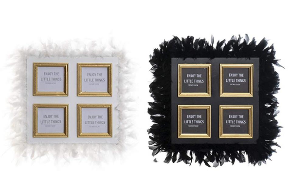 Ram chic za četiri fotografije 45x2x45 10x10 2 modela
