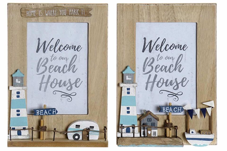 Ram za slike beach house 10x15 15x0.9x21.5 2 modela