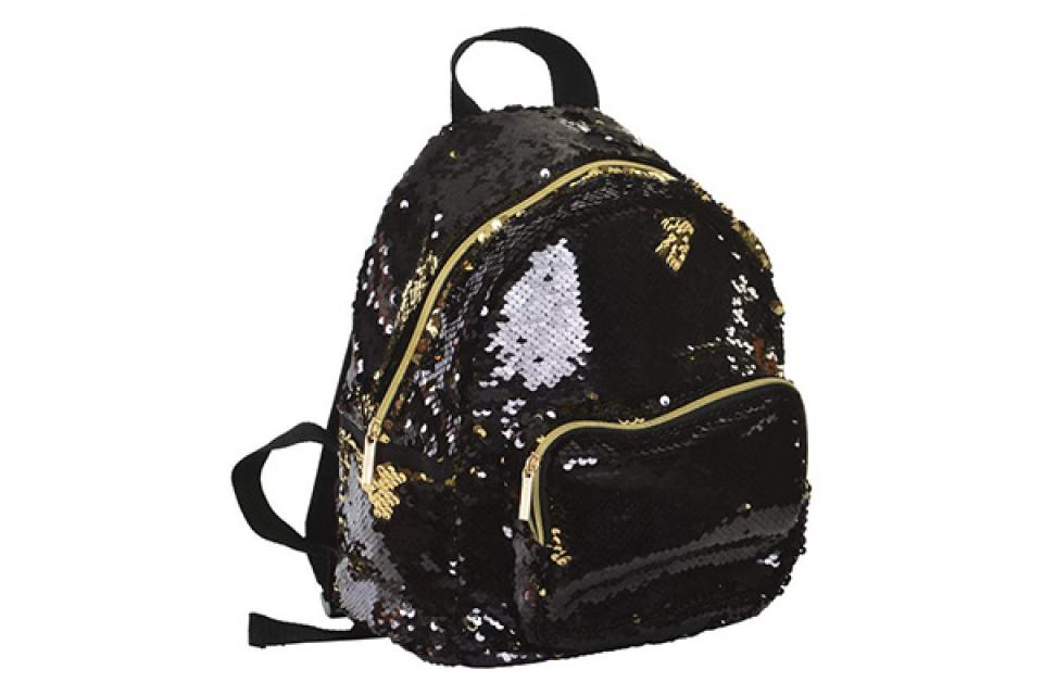 Ranac sparkly black 23x15x31