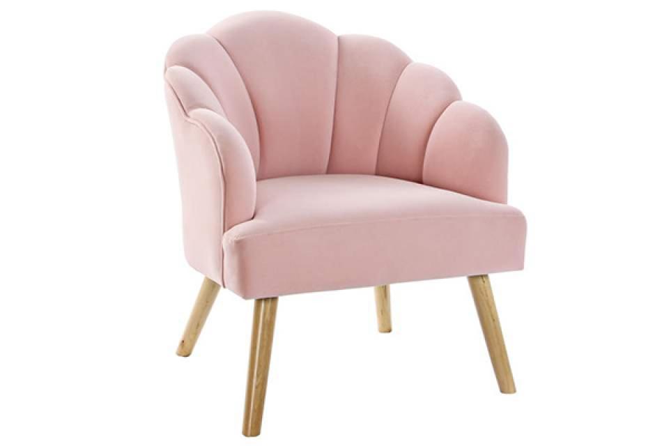 Roze fotelja 67x70x76
