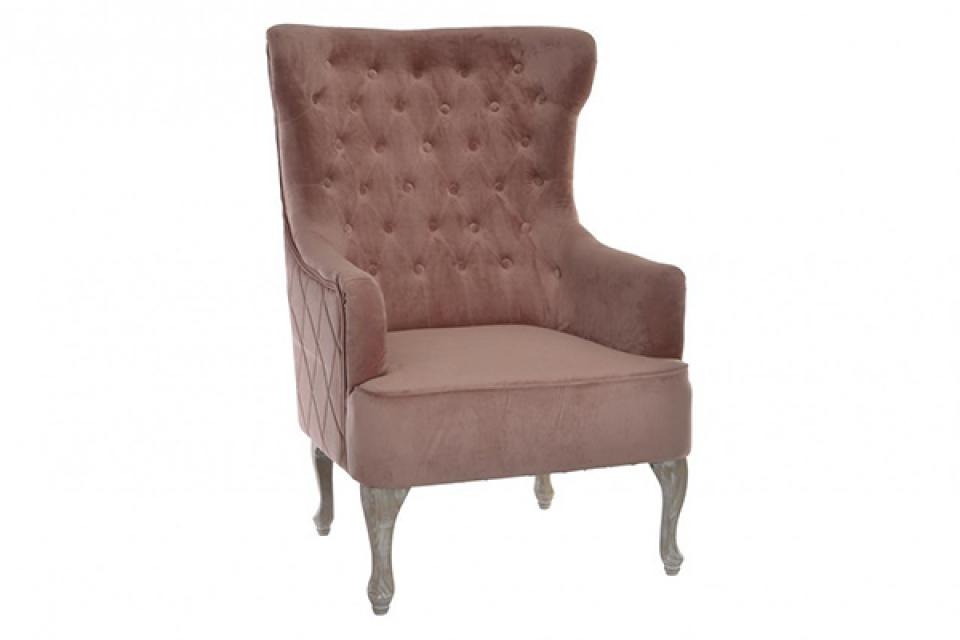 Roze fotelja  78x84x111