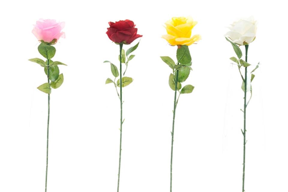 Ruža / pvc 49x8 4 boje