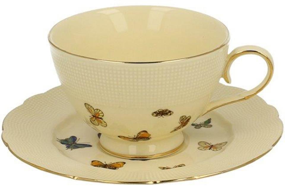 šolja porcelan - leptiri