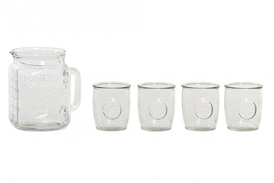 Set bokal i čaše / 5 26x19x19 2l. / 350ml.