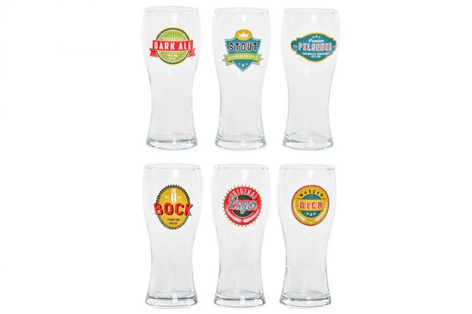 Set čaša za pivo / 6  7x7x18 500ml