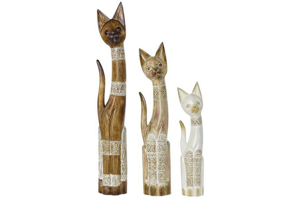 Set figura cats / 3 16x7,5x100
