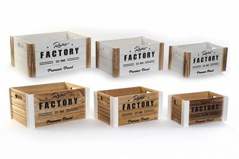 Set gajbica factory / 3 37,5x28x18 2 modela