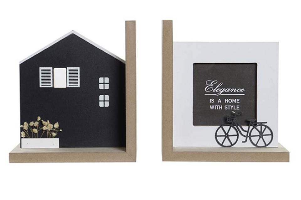 Set graničnika knjiga houses / 2 15x12x17
