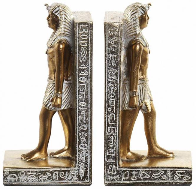 Set graničnika za knjige egipat / 2 10x7,5x20,5