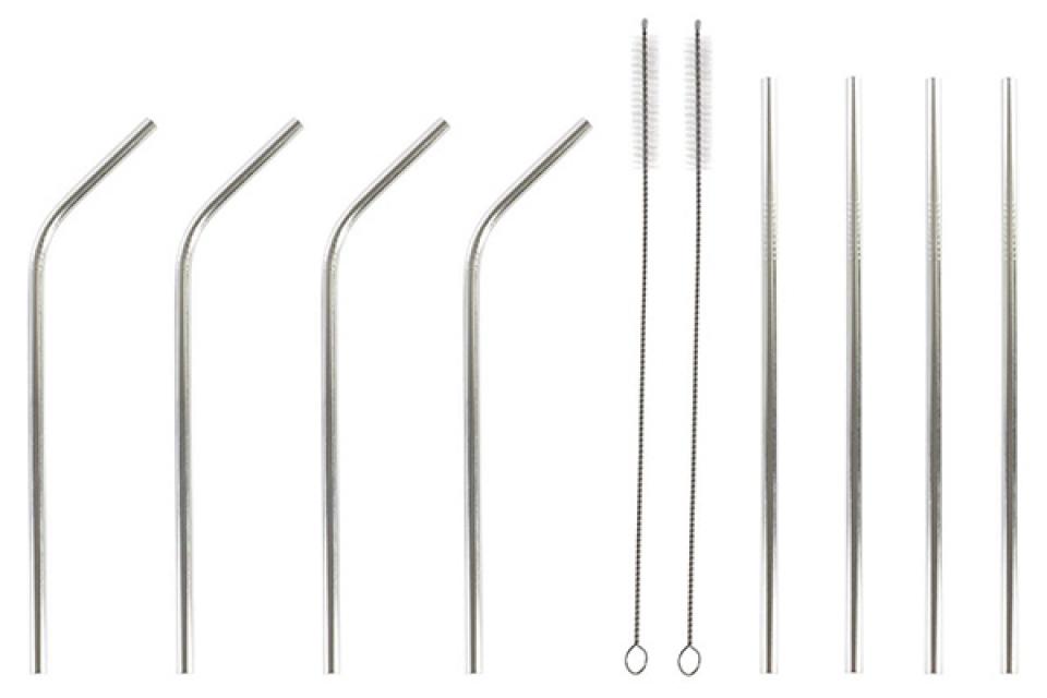Set inox slamčica sa četkicama / 10 0,5x0,5x21,5 3,5mm