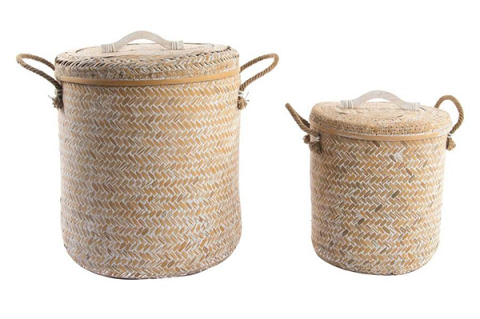 Set korpi bambus / 2 45x49