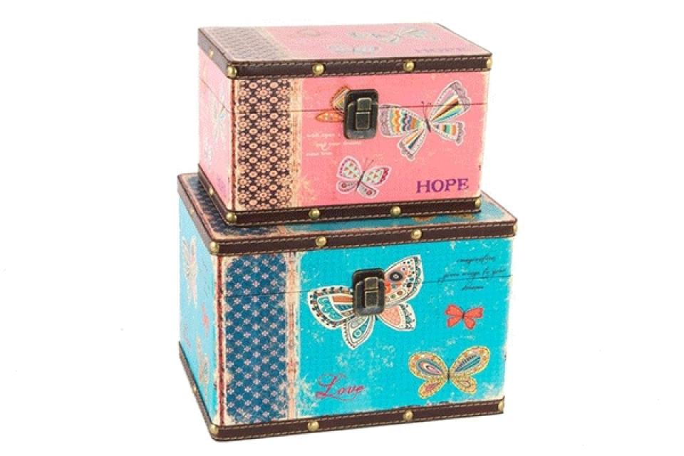 Set kovčega leptiri 26x18x18 set 2